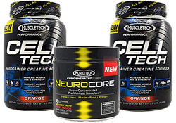 2 x Cell-Tech (3 Pounds) with Neurocore