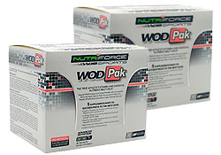 WodPak Vitamins (2 boxes)