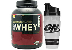 100% Whey 5 lb. with Shaker